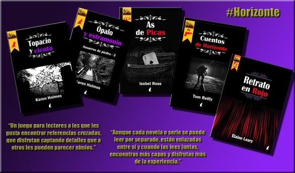 Todos los libros de #Horizonte publicados hasta el momento.