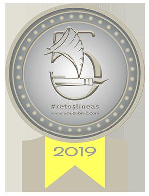 Medalla de Plata del Reto 5 Líneas de Adella Brac